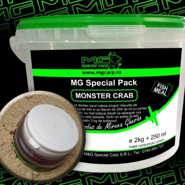 Mix + Parte Lichida Monster Crab