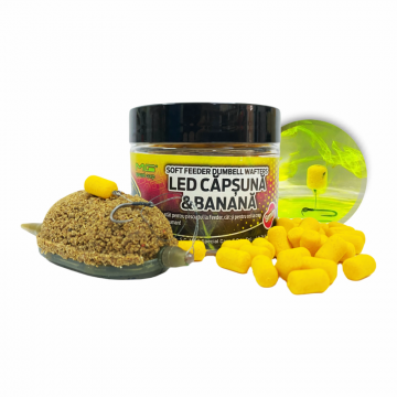 Soft Feeder Dumbell Wafters LED Capsuna&Banana 8mm
